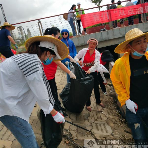 港口区工商联组织开展公益宣传活动