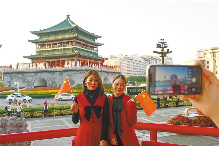 陕西:每个人心中都有一抹中国红